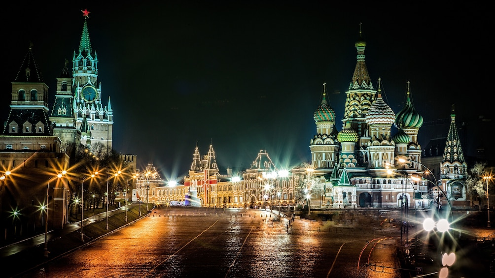 Show item 4 of 5. Private night tour of Moscow