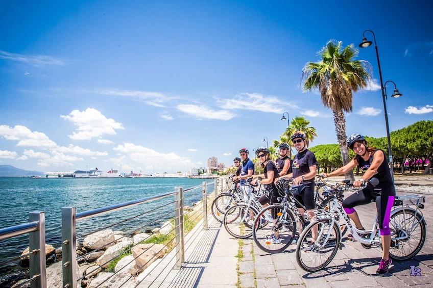 Show item 3 of 4. Ebike tour Cagliari