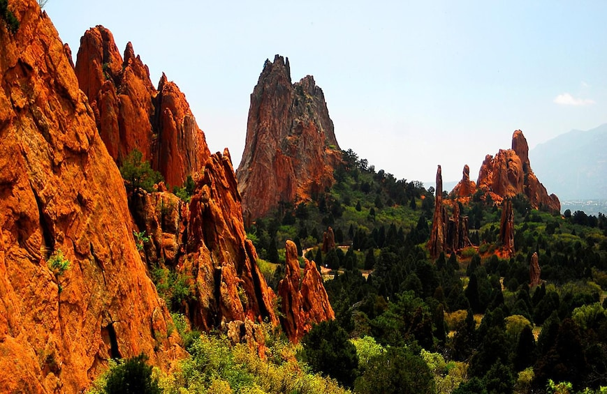 Show item 2 of 8. Pikes Peak and Garden of the Gods Tour