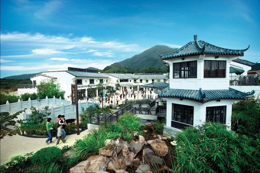 Show item 2 of 10. Skip-the-Line Lantau Island Cable Car Ride & Tai O Boat Ride