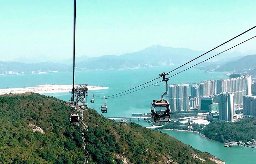 Show item 5 of 10. Skip-the-Line Lantau Island Cable Car Ride & Tai O Boat Ride