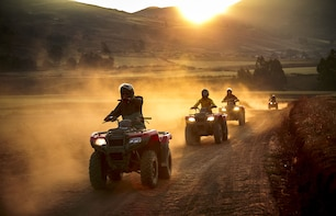 Quad Bike tour to Maras, Moray and the Salt Mines