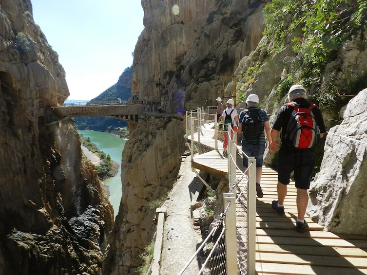 Group on a Caminito del Rey Full Day Trip