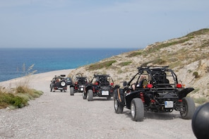 Buggy tour in the the East area of Mallorca