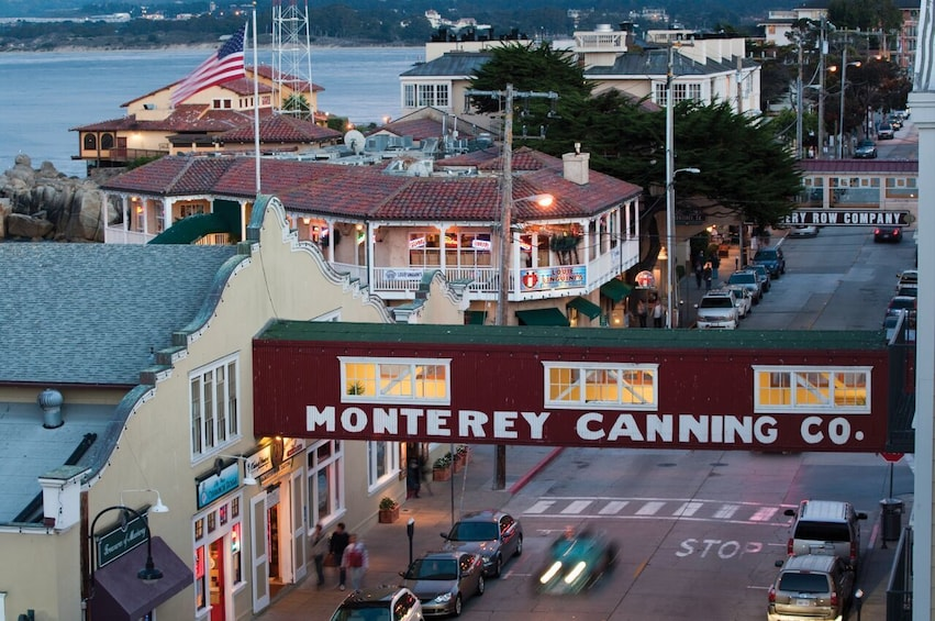 Show item 3 of 9. Cannery Row in Monteray, California