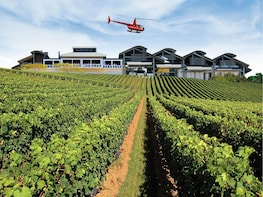 Helicopter Winery Lunch Tour