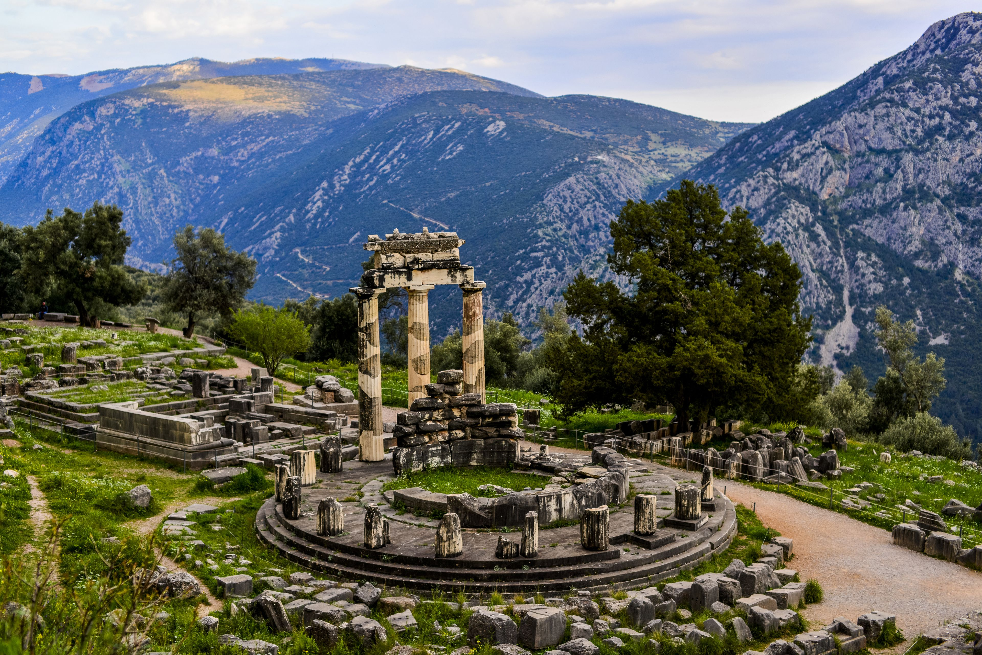 From Athens: Delphi full day private tour