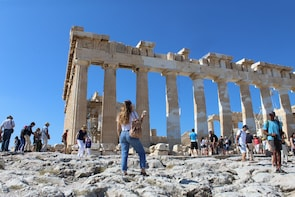 Acropolis: Entrance e-ticket with Audio Tour on Your Phone