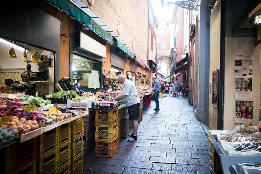 Show item 1 of 1. Market,Cook&dine at a Cesarina's home in S.Teresa di Gallura