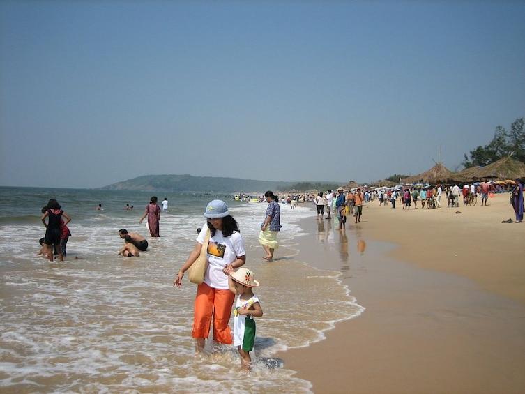 Show item 3 of 9. North Goa Scintillating One Day Tour
