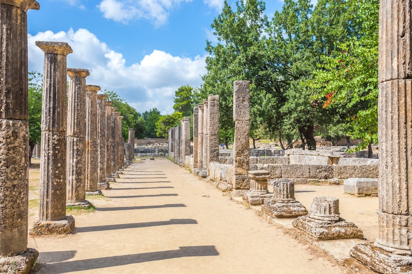 Show item 1 of 5. From Athens: Ancient Olympia full day private tour