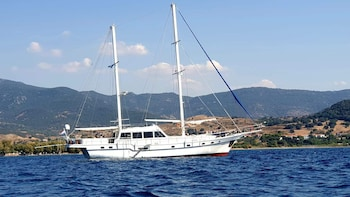 Sail cruise to Delos and Rhenia islands