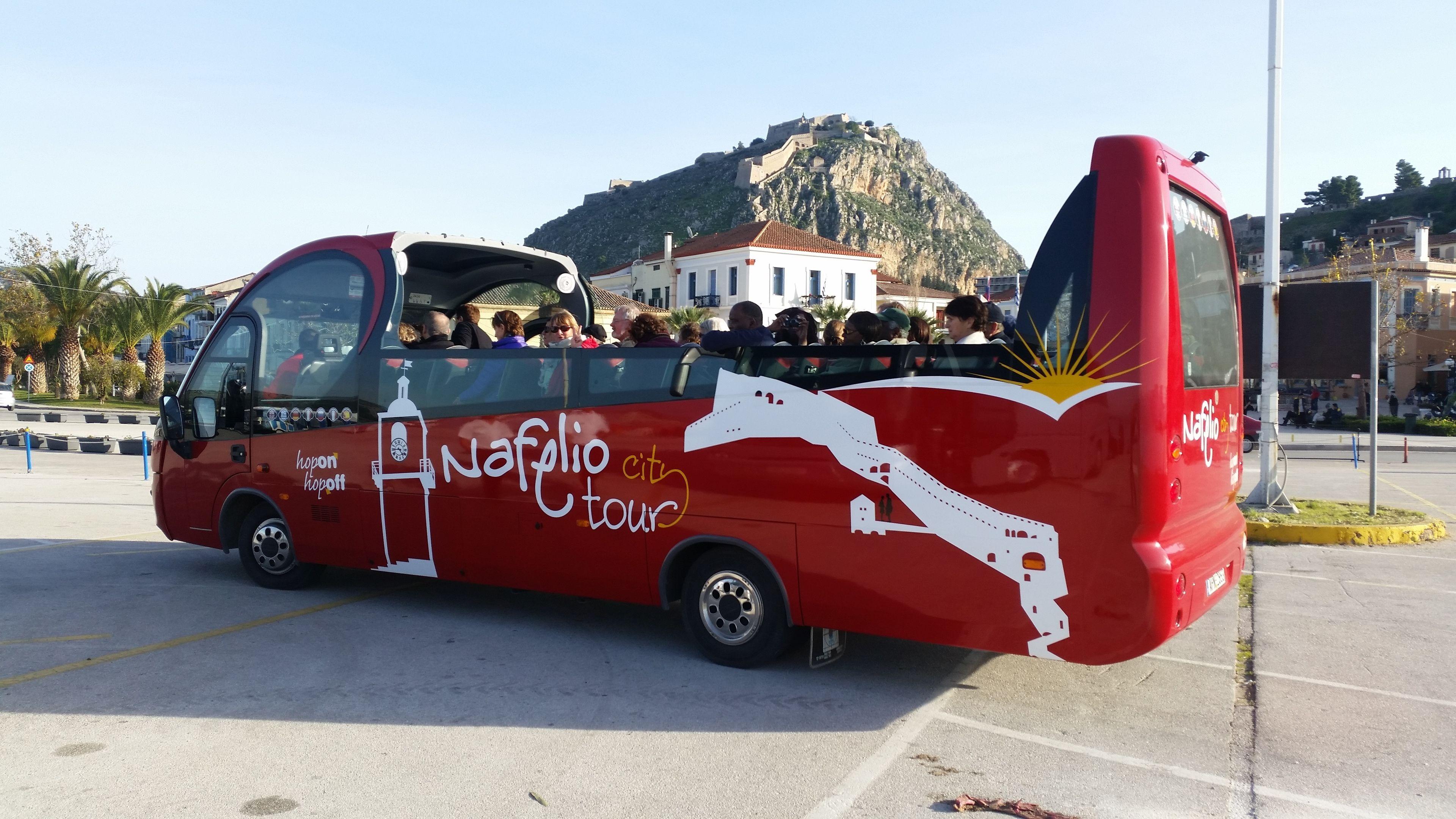 Nafplio hop on hop off city tour