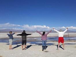 3 Days Uyuni Salt Flats ending in San Pedro de Atacama Chile