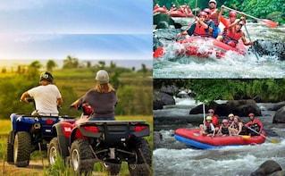 Full-Day Adventure - Bali Quad Bike and White Water Rafting