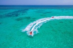 Waverunner, Snorkel, Beach Access & Round Way Transport