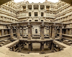Stepwell & Temple of Patan from Ahmedabad with Transports