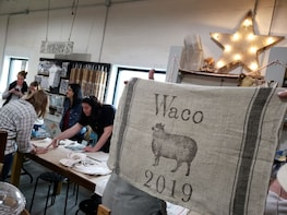 1-Hour Make-And-Take Workshop: Handmade Tea Towels