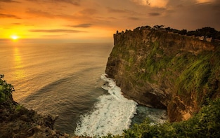 Private Tour: Uluwatu Sunset Temple with Fire Dance