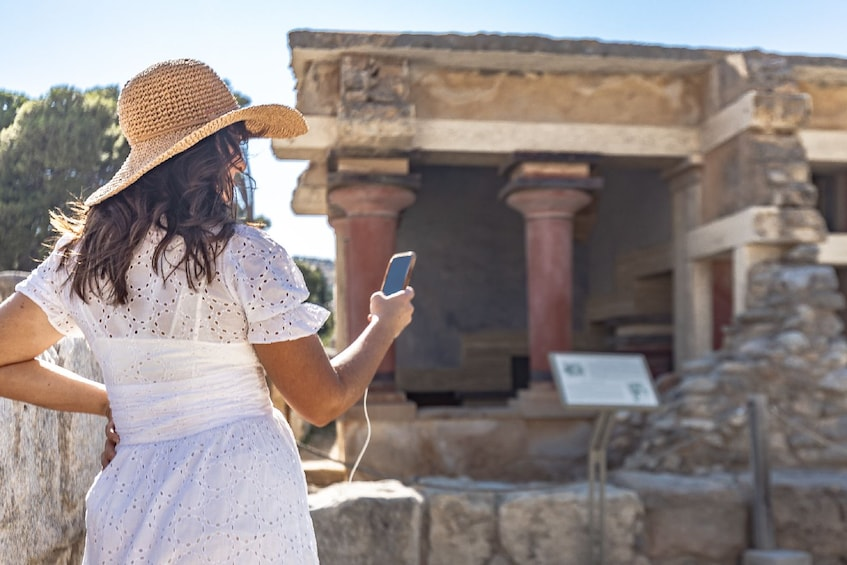 Show item 3 of 10. Palace of Knossos: Pre-booked e-Ticket with Audio Tour