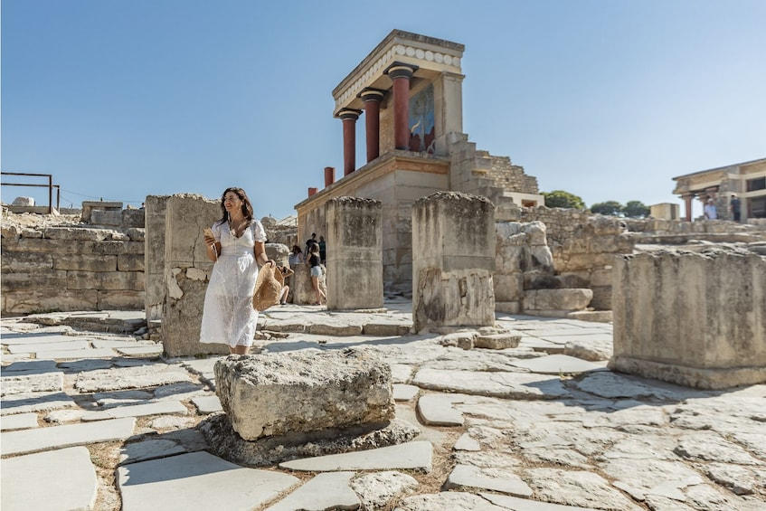 Show item 2 of 10. Palace of Knossos: Pre-booked e-Ticket with Audio Tour