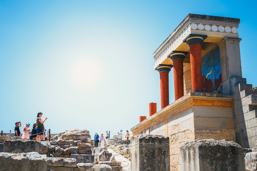 Show item 1 of 10. Palace of Knossos: Pre-booked e-Ticket with Audio Tour