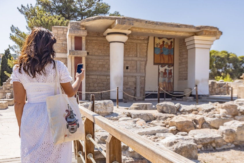 Show item 10 of 10. Palace of Knossos: Pre-booked e-Ticket with Audio Tour