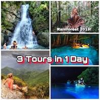 Rainforest, Luquillo Beach and Biobay Kayaking TRIO