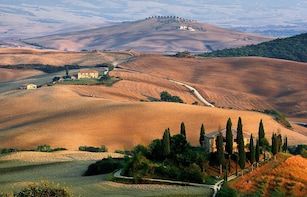 Val D'Orcia full day, UNESCO world heritage site.