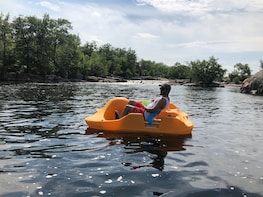 Pedal Boat Rentals Stoney Lake