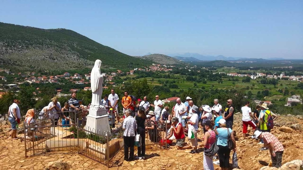 Show item 10 of 10. Medjugorje - The Hill of Virgin Mary