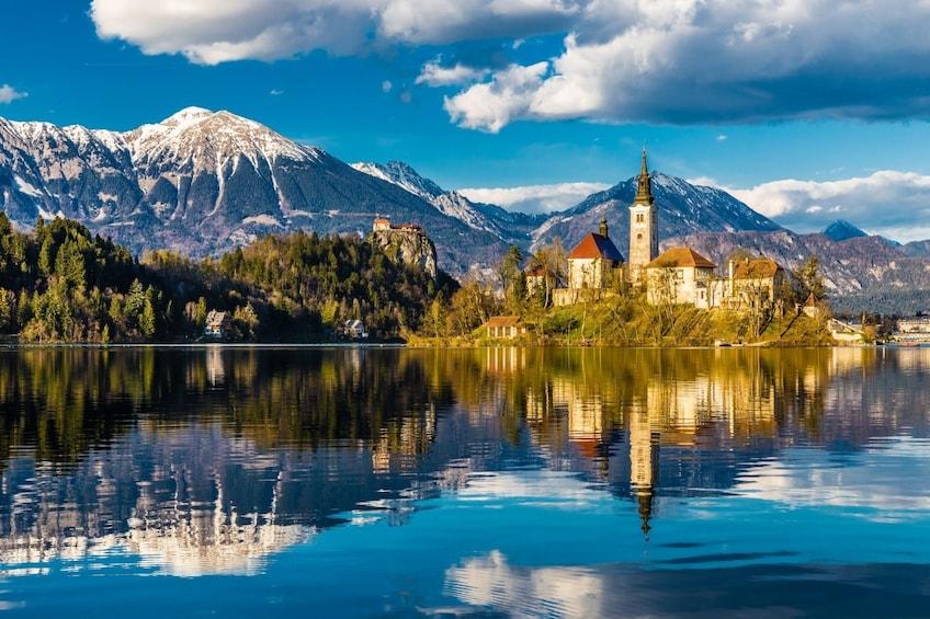 Bled lake & Ljubljana