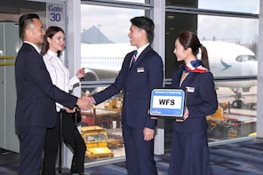 Round trip Meet & Greet with Porter Services at HK Airport