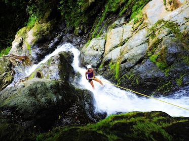 Canyoning Adventure: Waterfall Rappelling, Jumping & Hiking