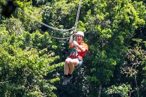 Fastest,Highest & Longest Zipline in Belize & Cave Adventure