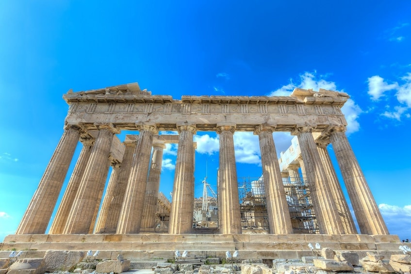 The Acropolis of Athens,Greece