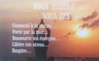 Release your stress in Yoga Paddle Board Aqua Zen !!