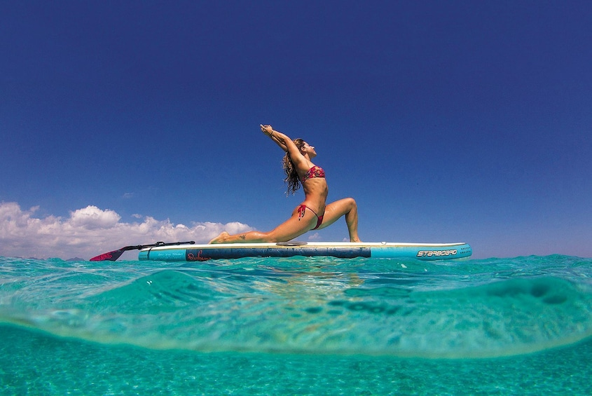 Show item 2 of 4. Release your stress in Yoga Paddle Board Aqua Zen !!