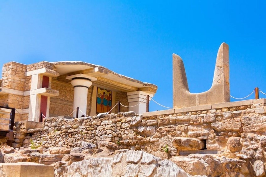 Show item 4 of 10. Epic Knossos Palace & Heraklion Museum with Wine Tasting