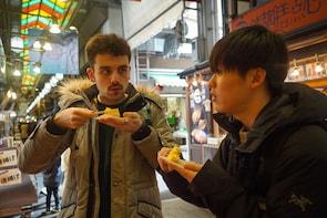 Nishiki Market Breakfast Walking Food Tour in Kyoto