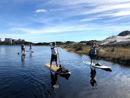 2 Hour Guided Paddle Board Tour - Eastern Lake