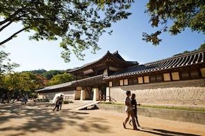 Korean Folk Village,Uiwang Railbike and GwangMyeong Cave