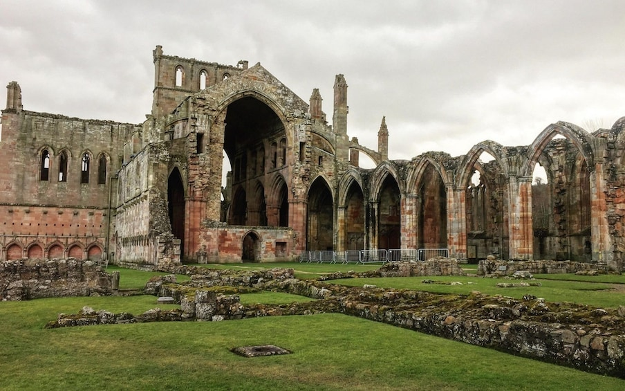 Show item 5 of 6. Melrose Abbey in Melrose, Scotland
