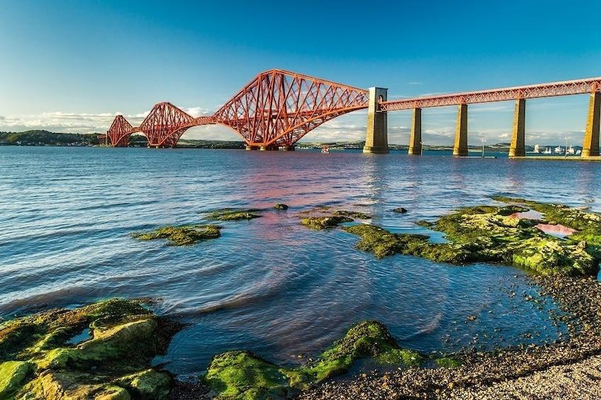 Show item 5 of 5. Forth Rail Bridge Cantilever bridge in the United Kingdom