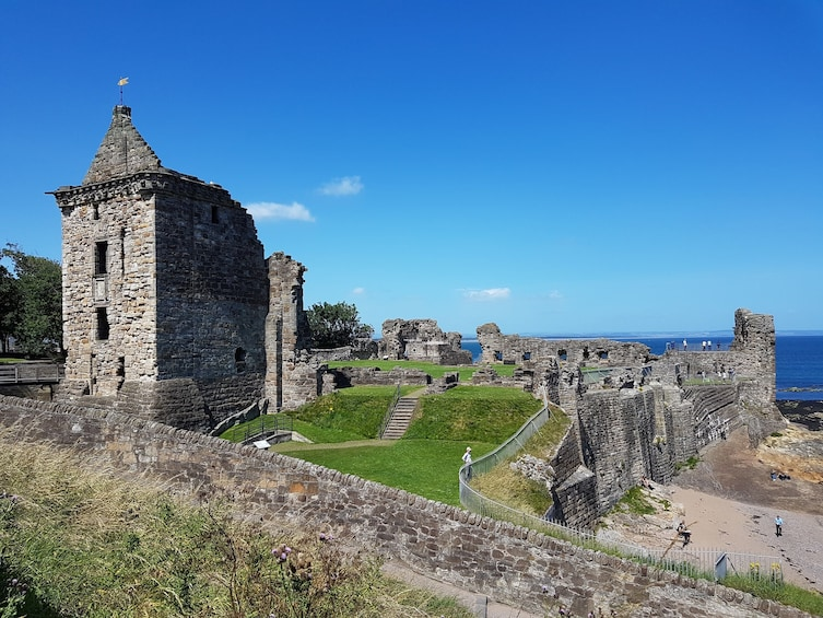 Show item 3 of 5. St Andrews Castle ruins