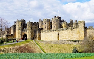 Holy Island, Alnwick Castle and the Kingdom of Northumbria