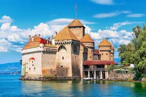 Swiss Riviera Tour - Montreux, Chateau Chillon & more