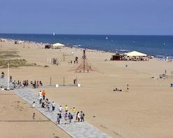 BEACH, MUSIC, DRINKS, FRIENDS, VOLLEYBALL AND FUN BARCELONA