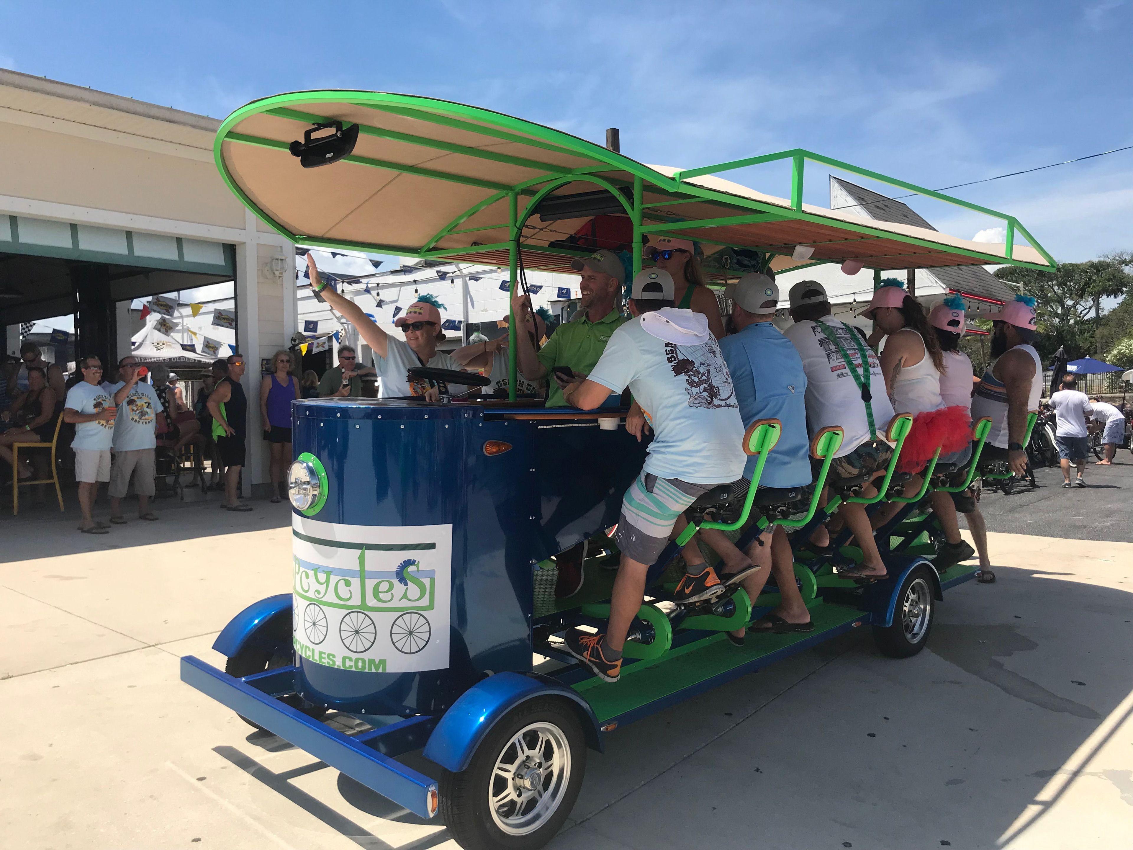 Hopcycles BYOB Pub Crawler Tour for 8-15 People