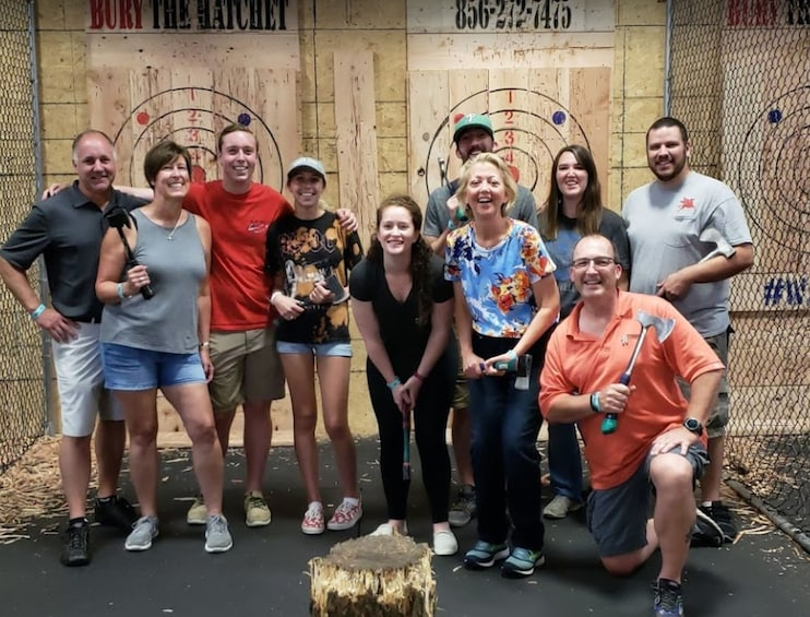 2 Hour Axe Throwing Experience
